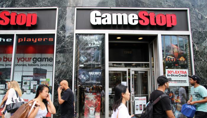 GameStop tops sales estimates